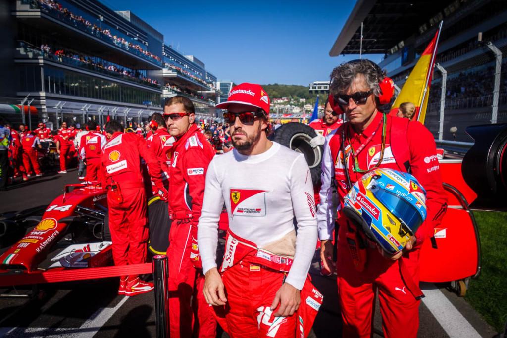 Formula One Russian GP Sochi 2014