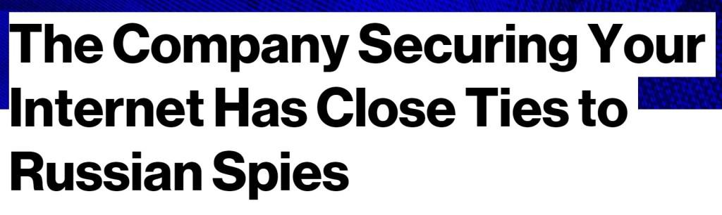 Bloomberg bullshit