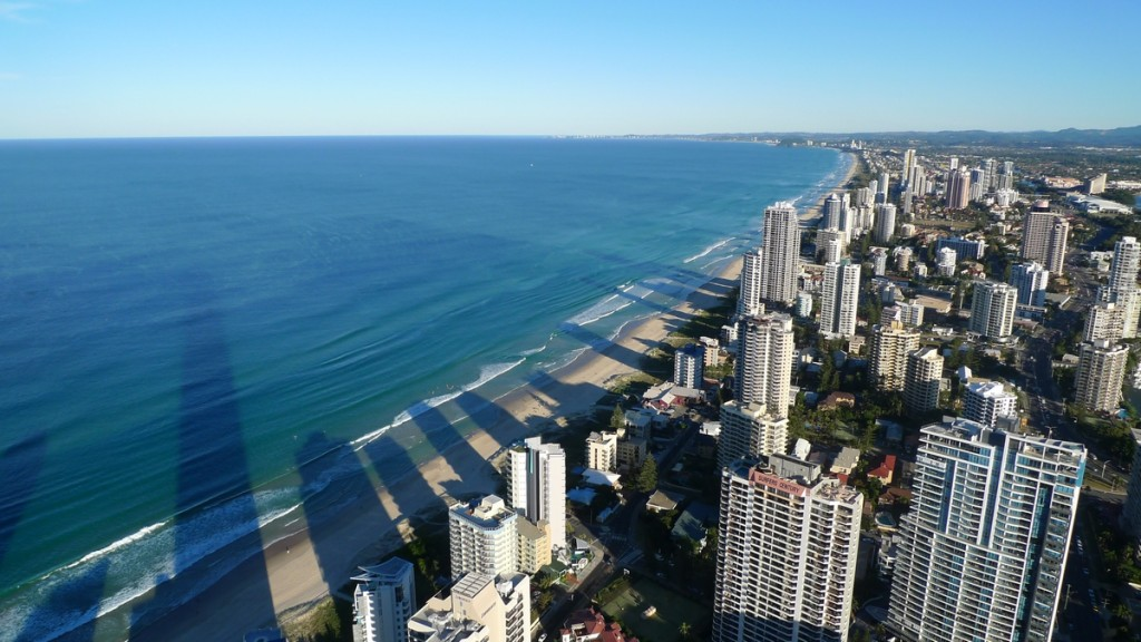 Eugene Kaspersky's top-100 must see places of the world - Surfers Paradise