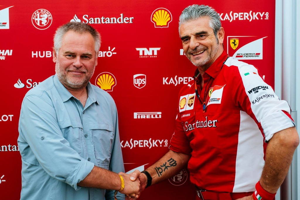 Kaspersky Lab prolongs its sponsorship contract with Scuderia Ferrari