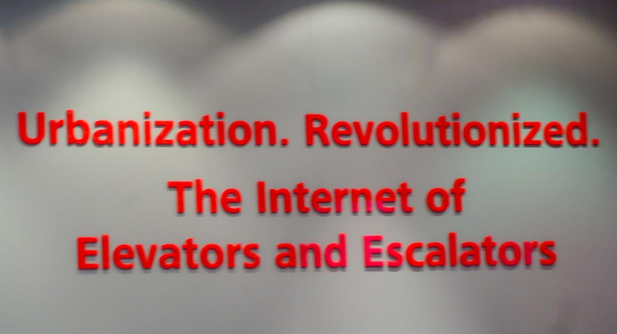 An Elevator in the Internet vs  the Internet in an Elevator  | Nota