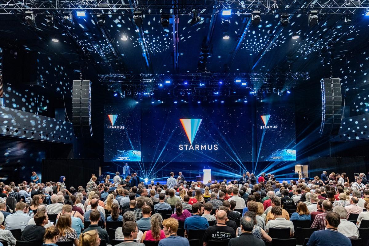 Starmus 2019 – stars of the stars.
