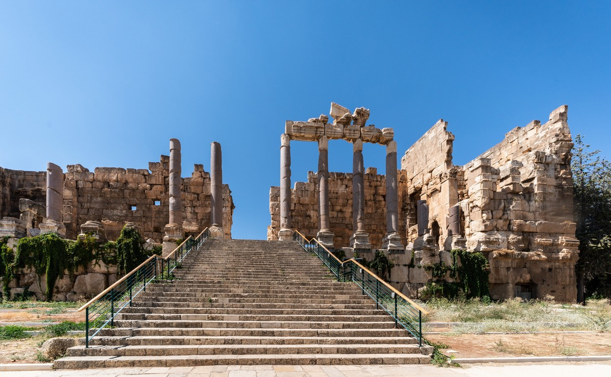 Bewildering Baalbek: Cyclopean temples that are immense and monumental.