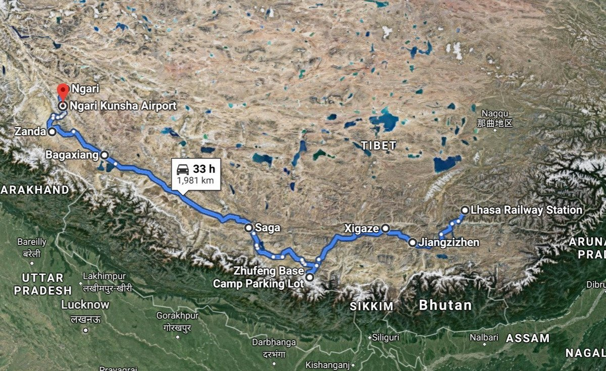 Nearly two weeks crossing Tibet – along a route we won't forget.