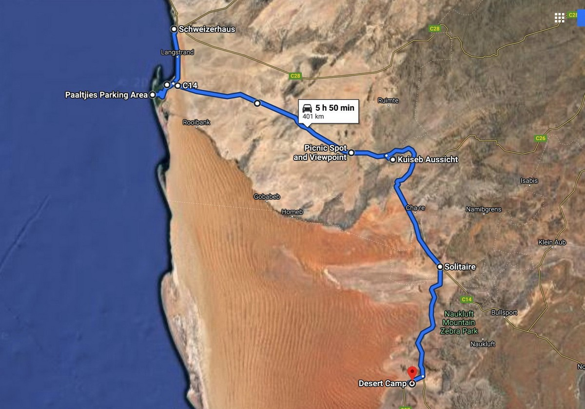 Namibian pink feathers, pink lakes, and mysteriouos geology.