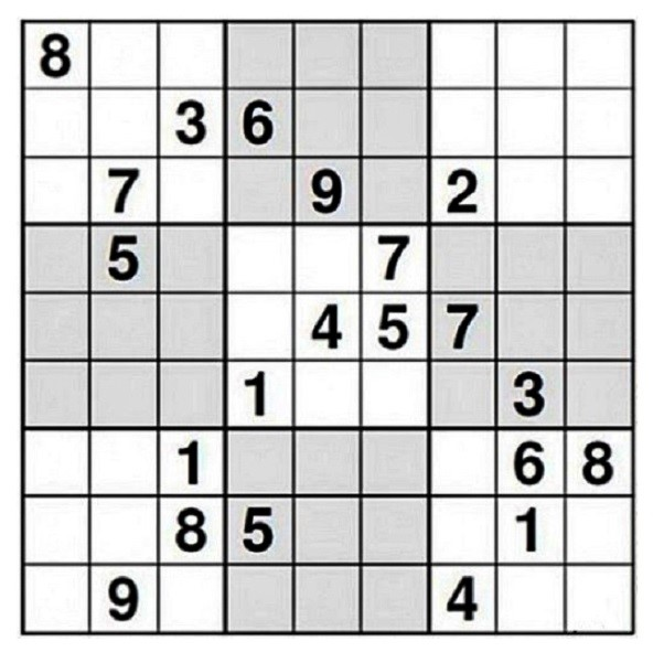 Sudoku… for bored, locked-down boffins.