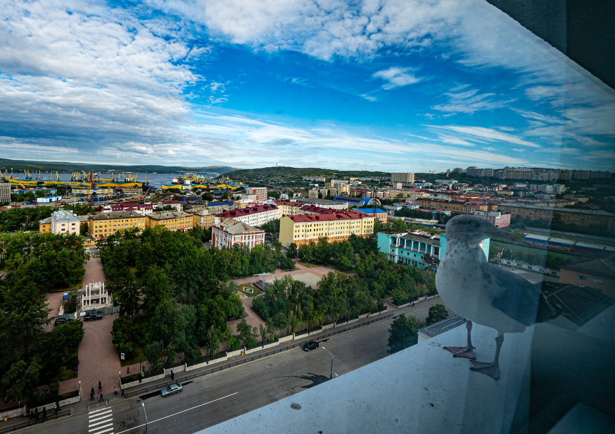 Murmansk: the sunny, windless resort!