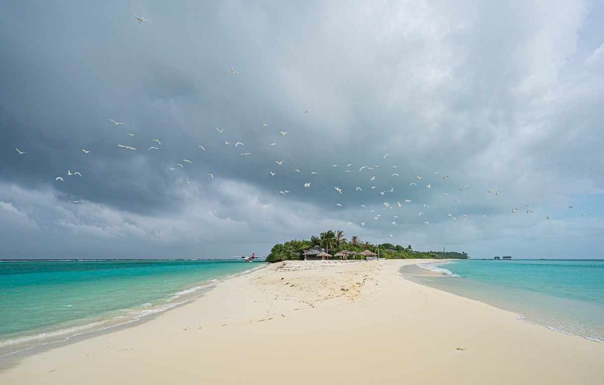 Island-hopping with ease – in paradisical Maldives!