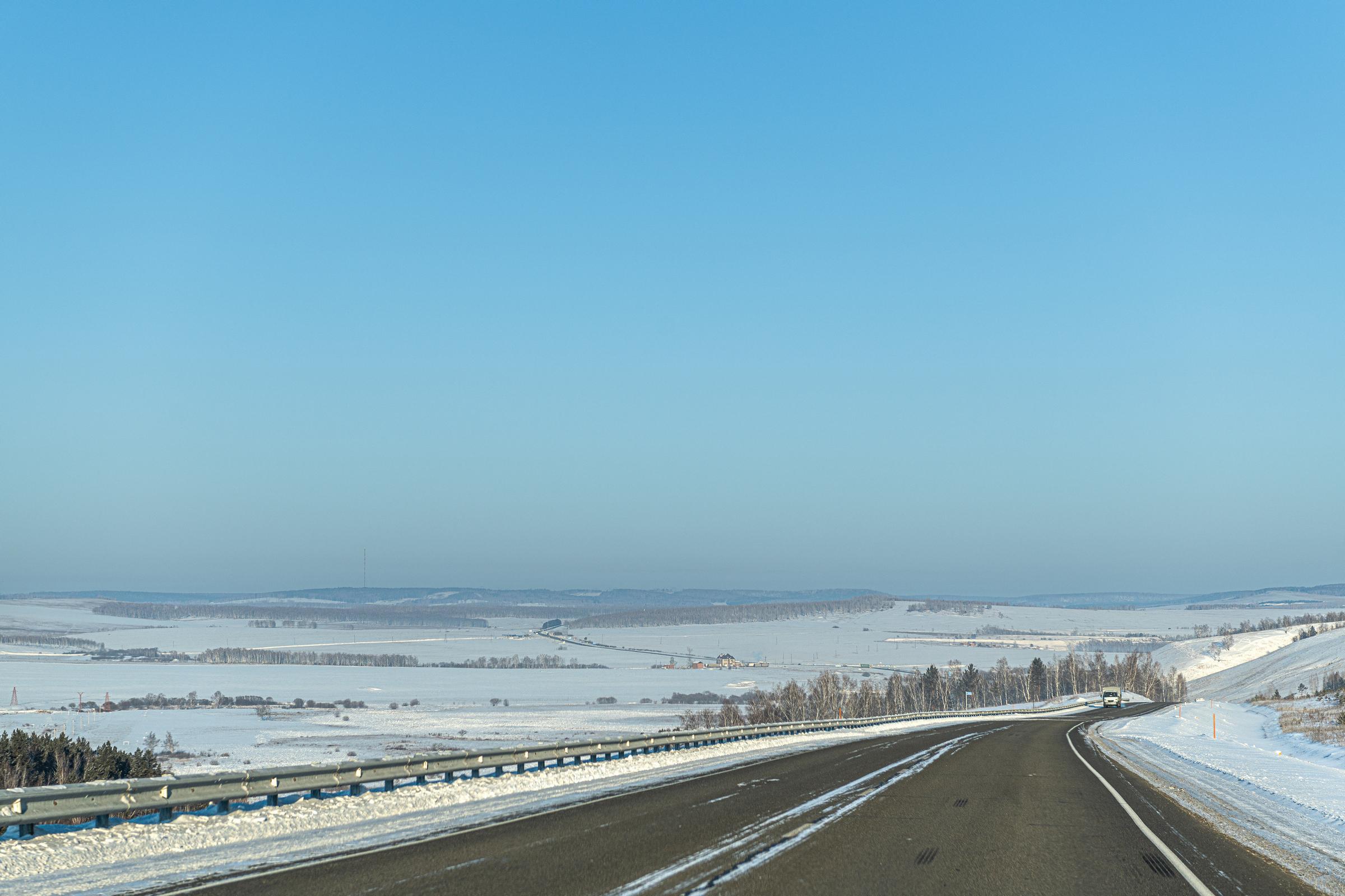 Irkutsk to Taishet: 700km – in the net.