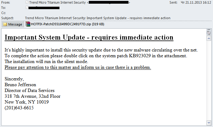 Kaspersky Security Bulletin. Lo spam nell'anno 2013