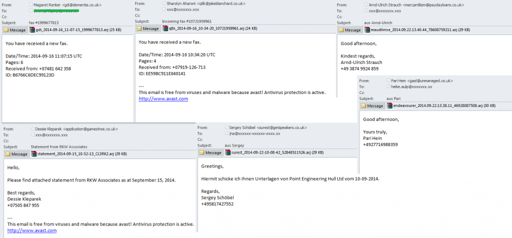 Kaspersky Security Bulletin. Lo spam e il phishing nell'anno 2014